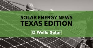 Texas Solar Energy News