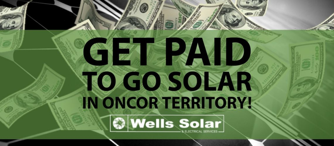 Oncor Solar Rebate Incentive 2020